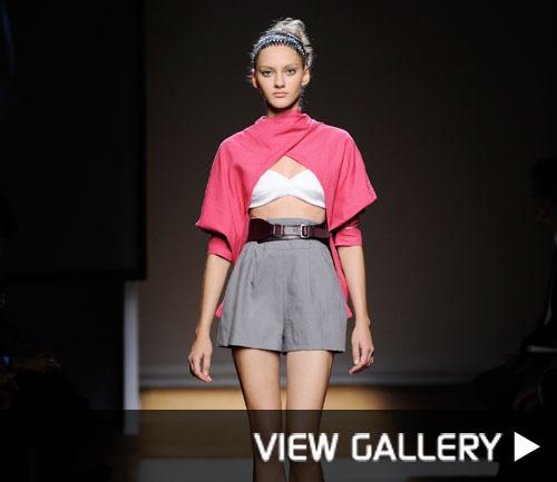 YSL fashion show
