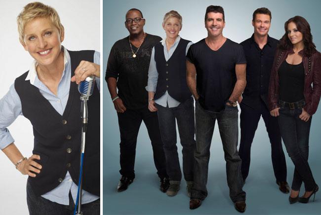 Photos of Ellen DeGeneres as an 'Idol' Judge