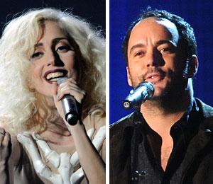 Lady Gaga and Dave Matthews Band to will perform at Grammys