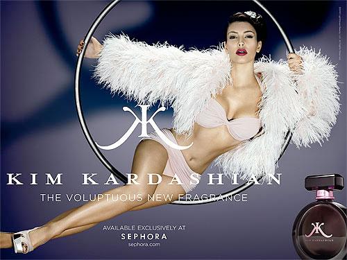 Kim Kardashian goes retro glam for new ad