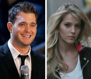 Michael Buble proposed to girlfriend Luisana Loreley Lopilato de la Torre in her native Argentina.