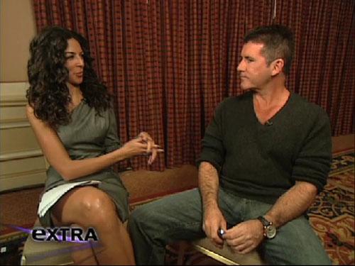 Simon Cowell addresses rumors of Paula Abdul on 'X Factor'