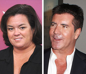 rosie o'donnell simon cowell