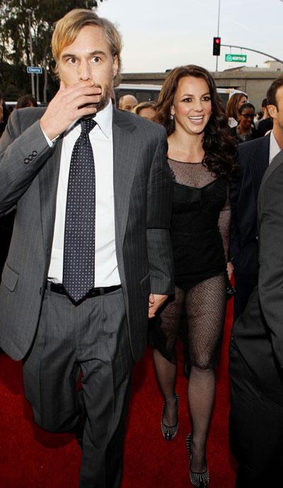Britney Spears takes Jason Trawick as Grammy date