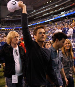 rob lowe and taylor lautner