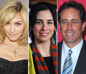 Madonna, Sarah Silverman Join Jerry Seinfeld's 'Marriage Ref'