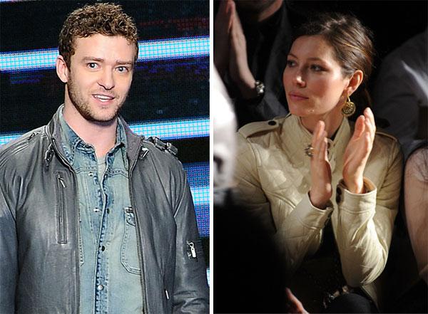 Jessica Biel supports Justin Timberlake at Fashion Week