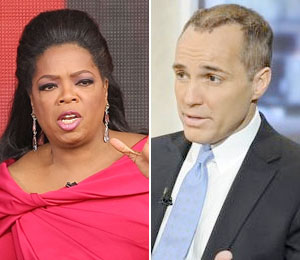 Oprah Winfrey and Andrew Young