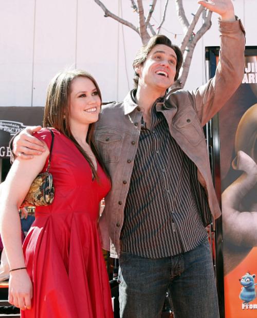 Jim Carrey Jane Carrey and Jenny McCarthy