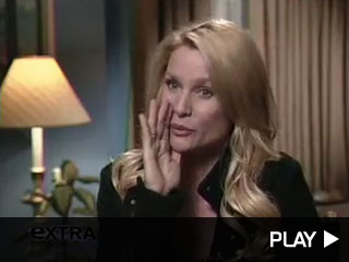 Nicollette Sheridan on set of Desperate Housewives.