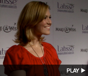 Mandy Moore At Latisse Wishes Event