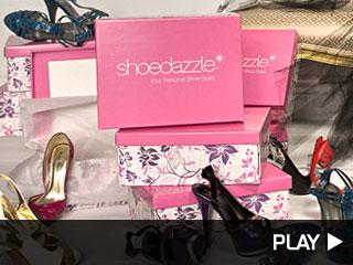 Kim Kardashian giving away ShoeDazzle.com shoes!
