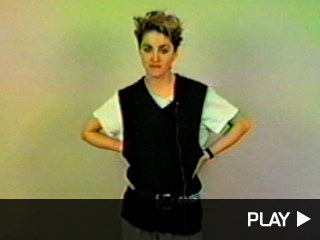 21 year old Madonna auditioning for Fame
