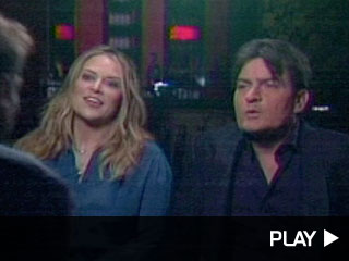 Charlie Sheen and Brooke Mueller discusses names of their sons