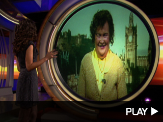 Susan Boyle chats with Terri Seymour
