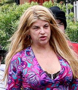 Kirstie Alley weight battle