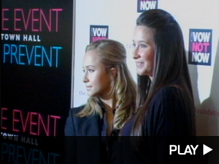 Hayden Panettiere and Bristol Palin at The Event To Prevent