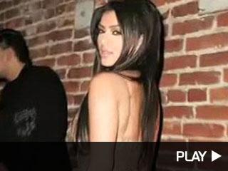 Kim Kardashian at the Hennessy Black party