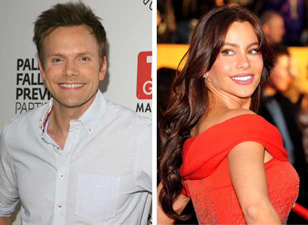 joel mchale and sofia vergara