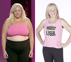 Helen Phillips wins the Biggest Loser Couples