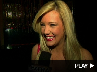 Katie Rees talks to 'Extra'