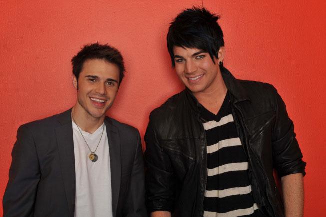 Kris Allen and Adam Lambert