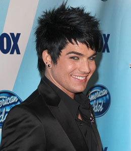 More moments with Adam Lambert on Extra