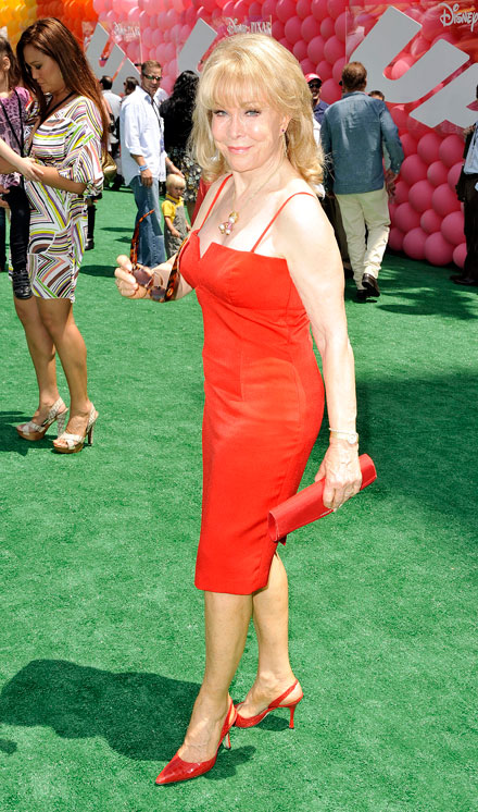 Barbara Eden at the Up! premiere