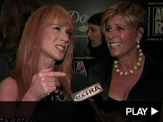 Suze Orman and Kathy Griffin