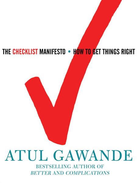 checklist manifesto book