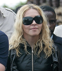 Madonna reunites with Mercy