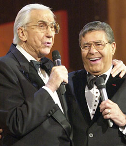 Jerry Lewis issued a statement about Ed McMahon