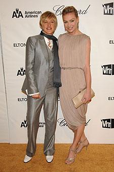 Ellen And Portia Wedding.Ellen And Portia S Big Wedding Plans Extratv Com