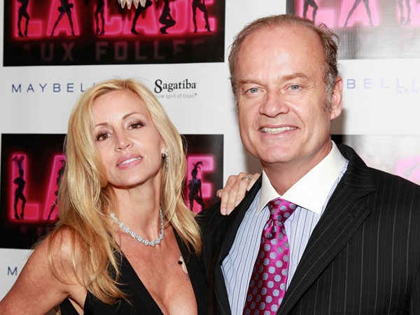 kelsey grammer and wife