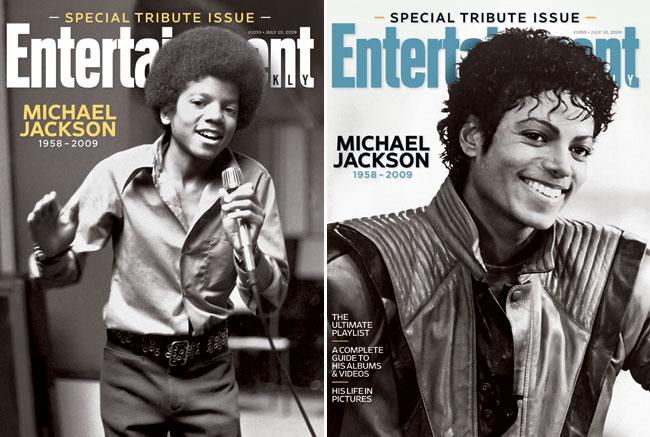 entertainment weekly honors michael jackson