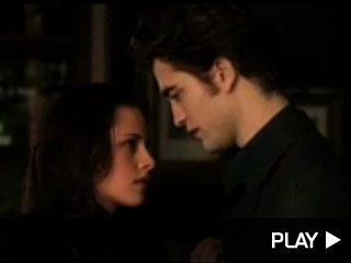 Rob Pattinson and Kristen Stewart in