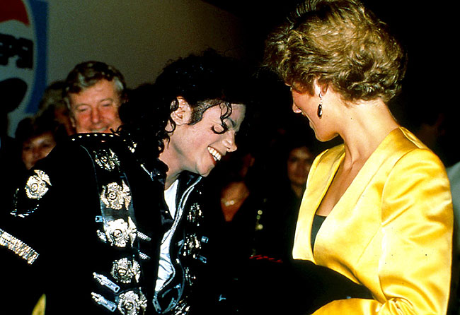 michael jackson's relationship with princess diana