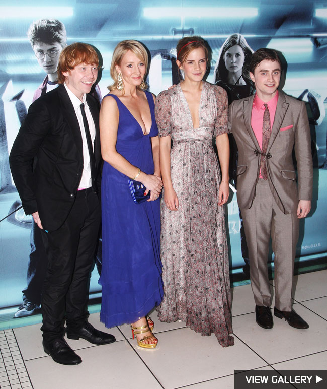 Harry Potter premiere in London