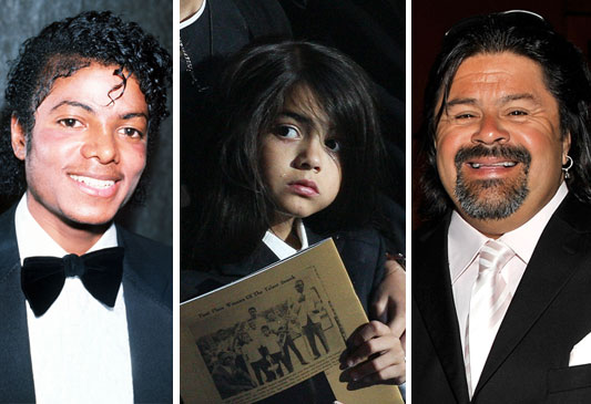 Who is Blanket's biological father?