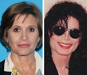 carrie fisher on michael jackson