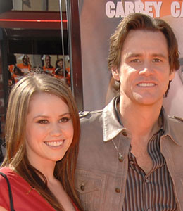 Funnyman Jim Carrey is going to be a grandfather