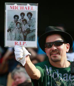 Michael Jackson memorial in Gary, Indiana
