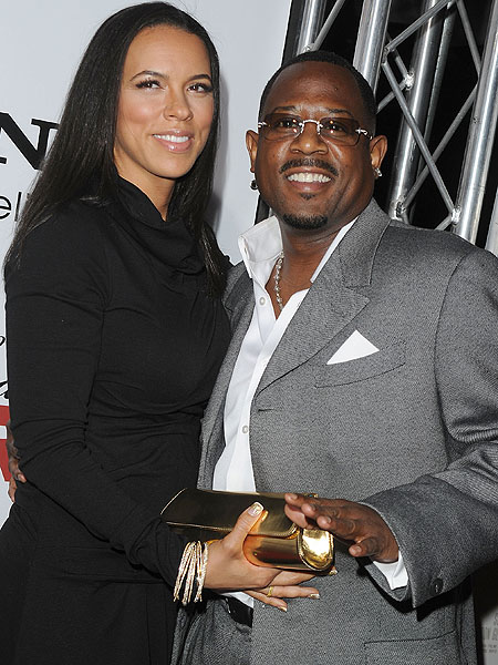 martin lawrence and shamicka gibbs