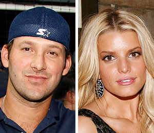 jessica simpson and tony romo split