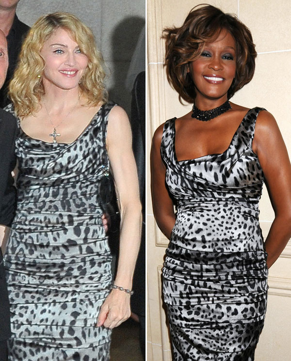 who looks better madonna or whitney houston