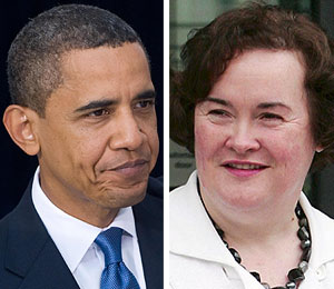 no primetime showdown with president obama and susan boyle