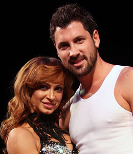 'Dancing with the Stars' couple Maksim Chmerkovskiy and Karina Smirnoff are too busy to tie the knot