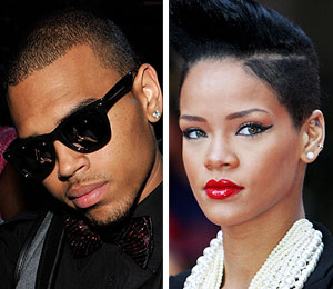 chris brown and rihanna have run-in at hotel