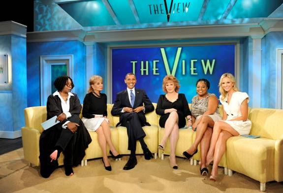 the view barack obama