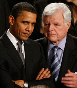 President Obama spoke Wednesday morning the passing of Sen. Ted Kennedy.
